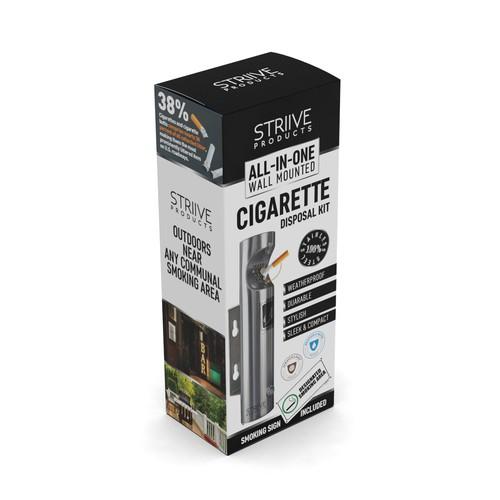 Striive Products Box Design
