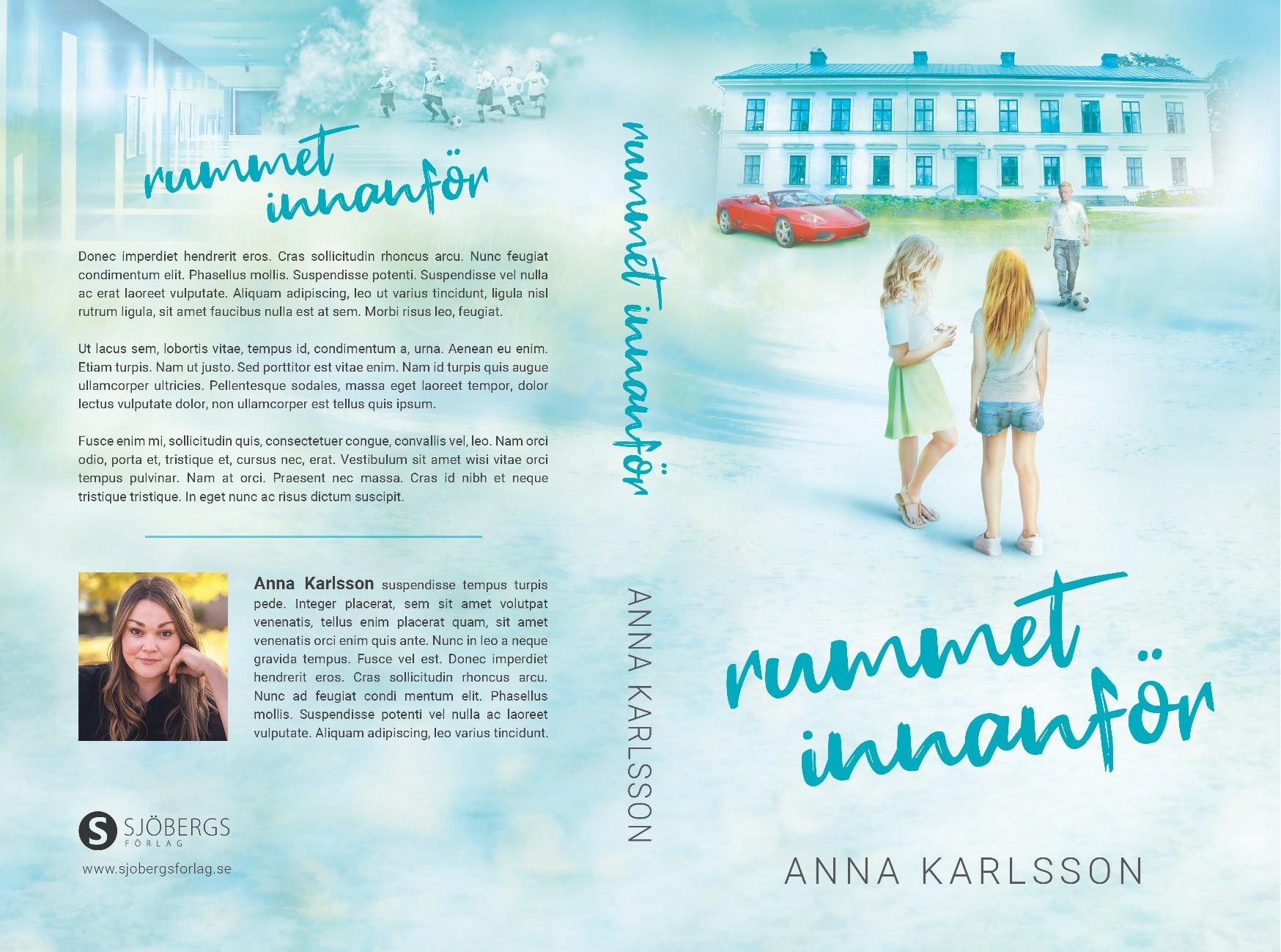 "Teens novel - create the cover for ""The room inside"""