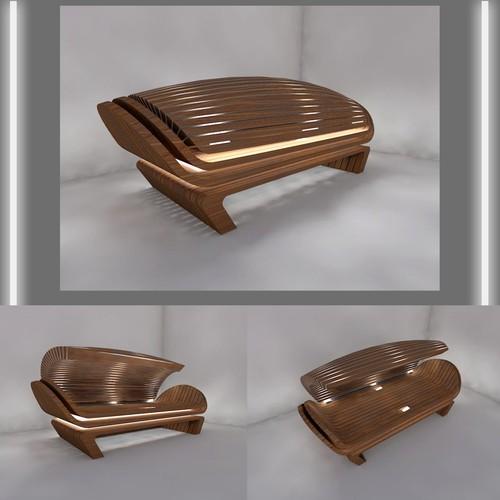 One person sauna design
