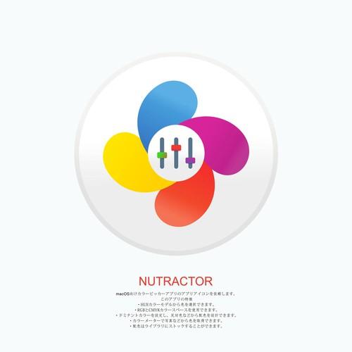 macOS 向け HUE Color Picker アプリのアイコンデザイン
