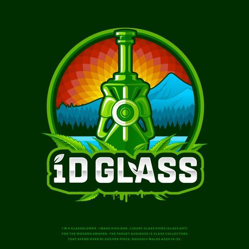 iD Glass Logo designs