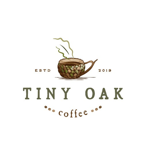 Logo for mobile coffee shop