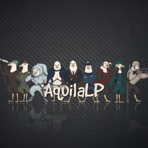 AquilaLP YouTube Channel Design