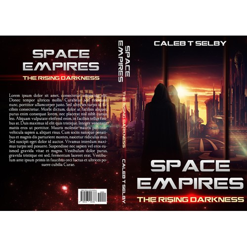 Book Cover For Sci-Fi novel