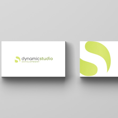 logo concept for dynamic studio