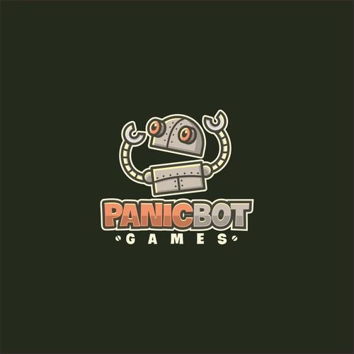 Panicbot Logo design