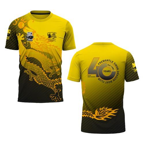 Oldest dragon boat club in Australia needs 40th commemorative jersey