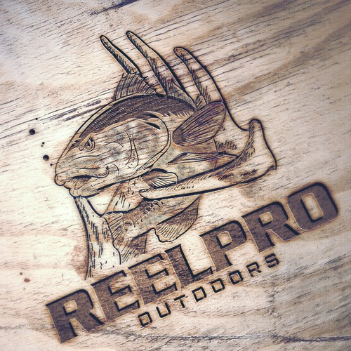 Logo design for ReelPro Outdoors