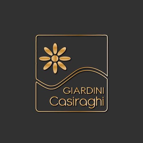 Luxury logo concept.