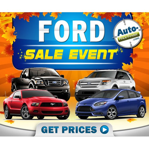 Create the next Ford Automotive Banner Ad!