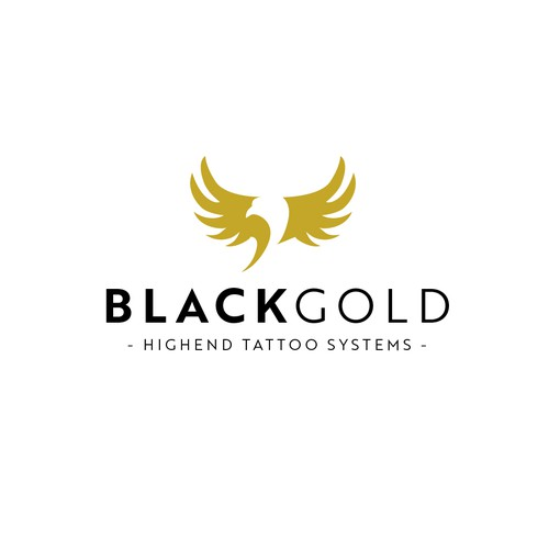 Logo design for tattoo equipment.