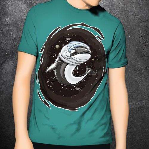 T-Shirt Design of Orca