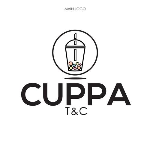 Logo for Bubble Tea place