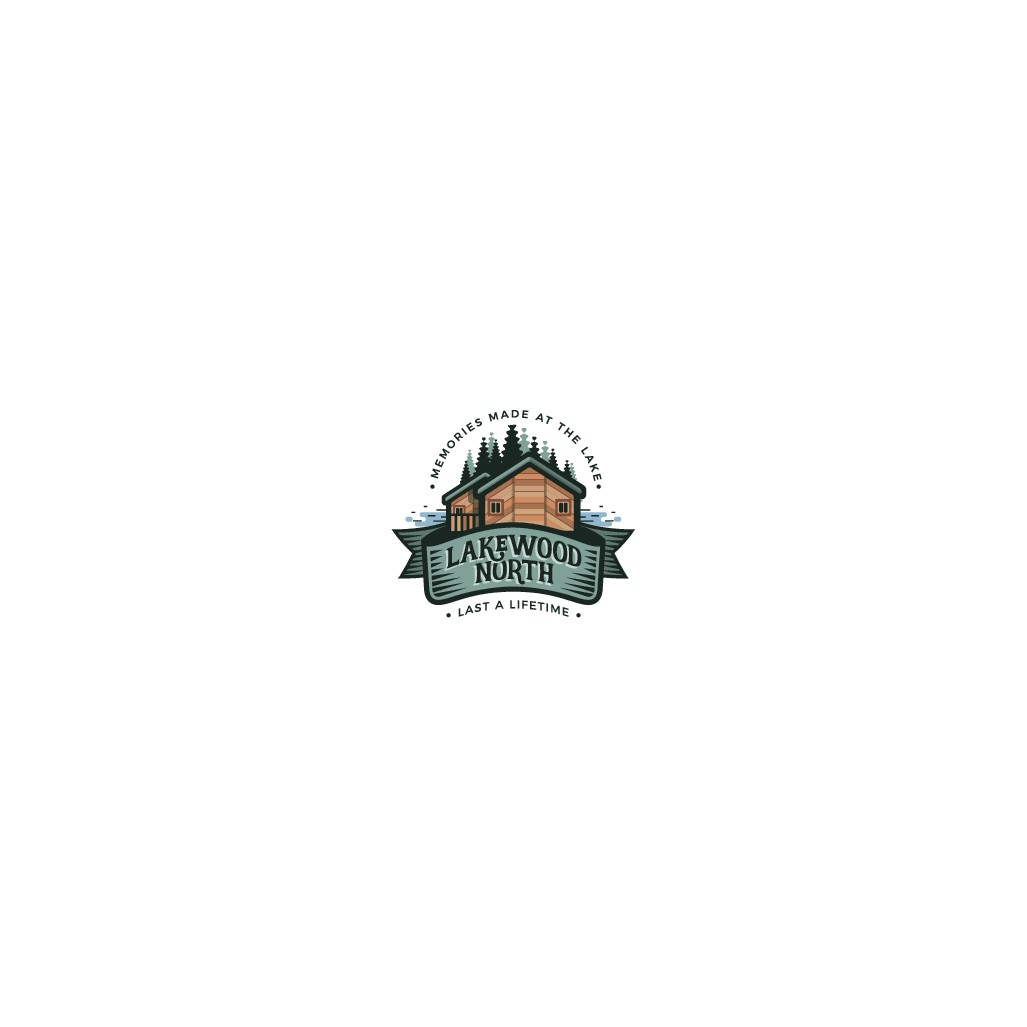 Design a winning logo for a great lakeside vacation property
