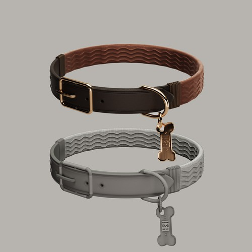Dog Collar 3d Modelling & Design