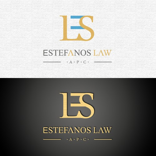 Logo for a law firm
