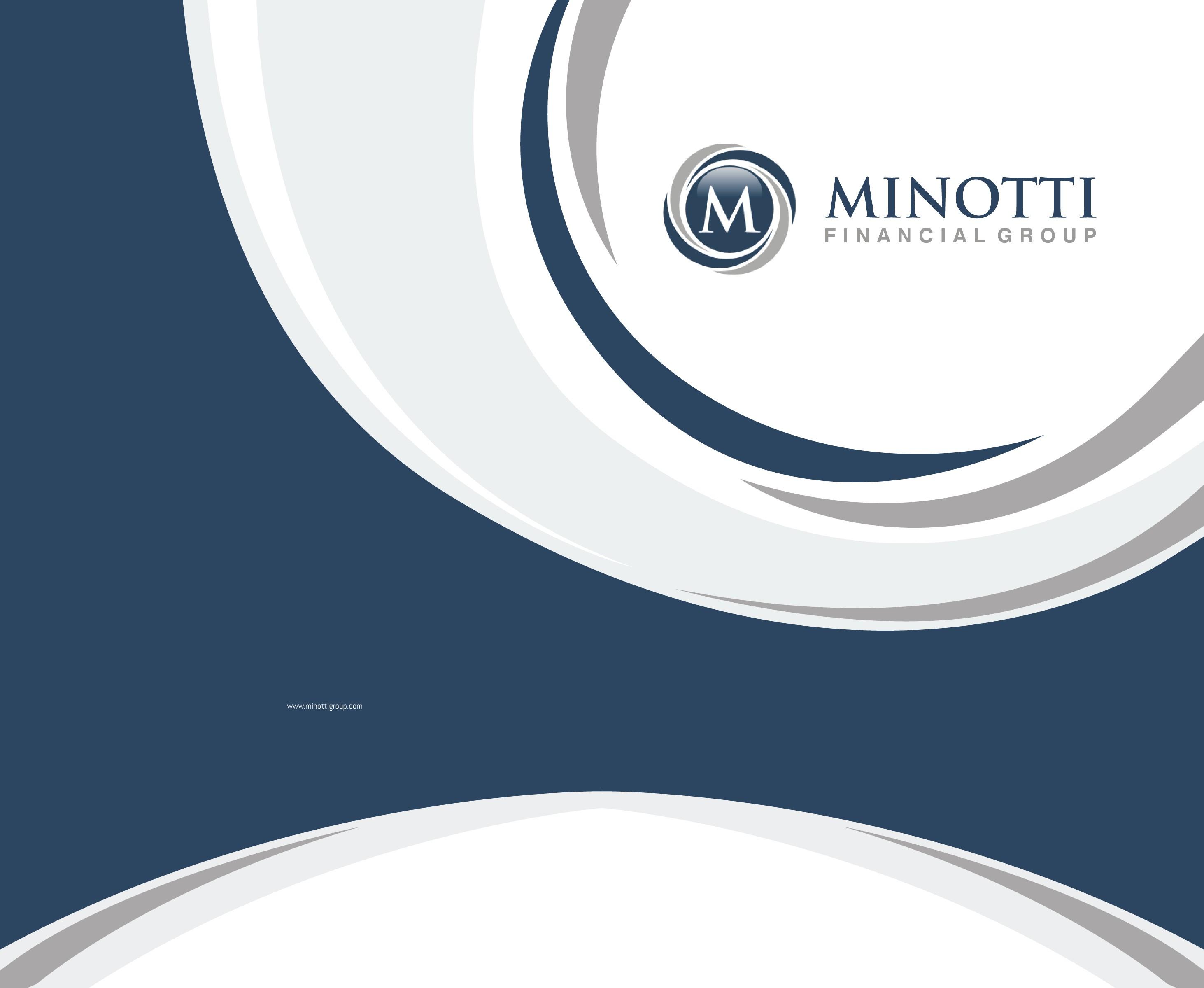 Minotti Financial Folder Design