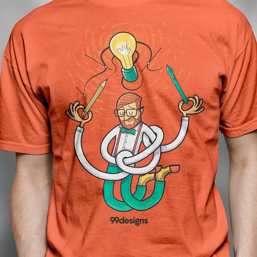99designs New T-shirt
