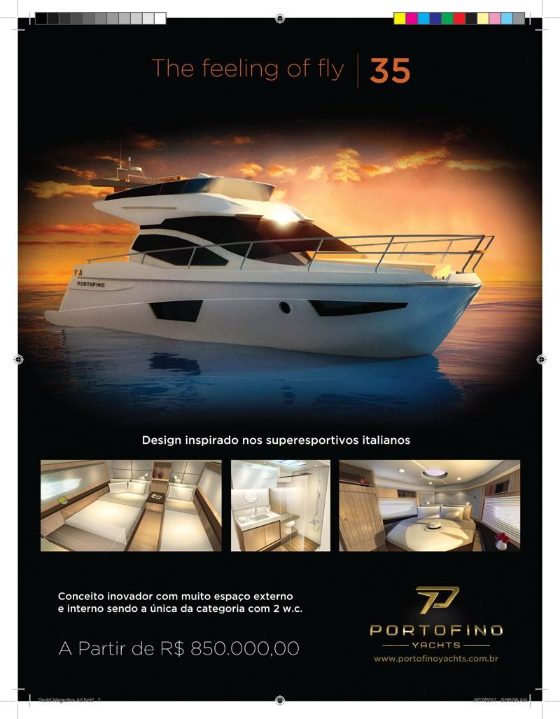 !!!! Portofino Yachts needs a very nice magazine advertising !!!!
