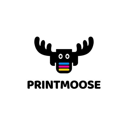 PrintMoose Logo