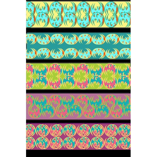 Create a design for printed designer duct tape