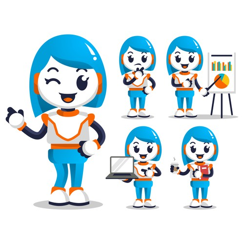 Eva - Smart Assistant Robot