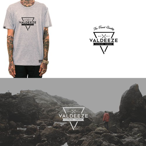 Design For Valdeeze Clothing Company