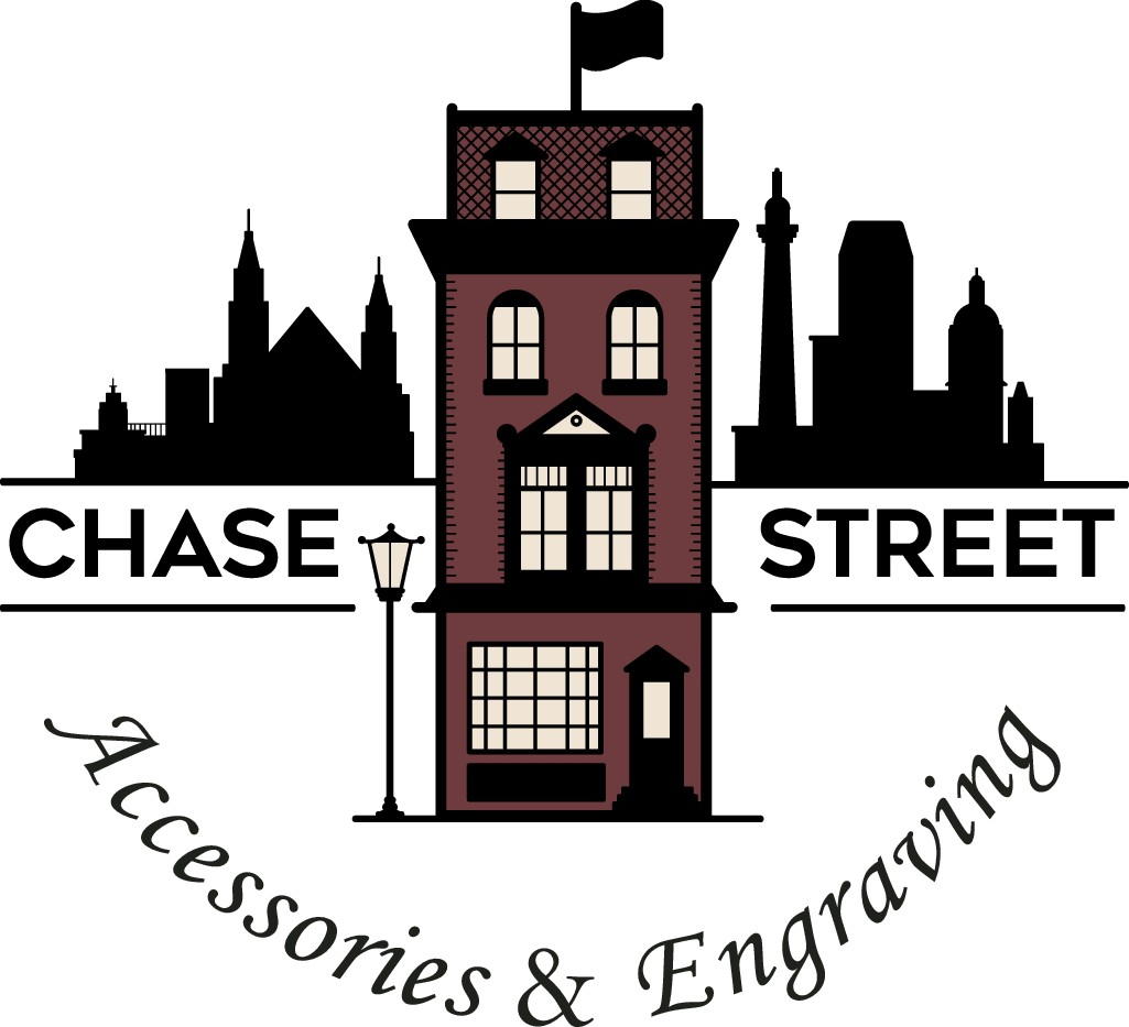 Chase Street Accessories & Engraving - rebrand