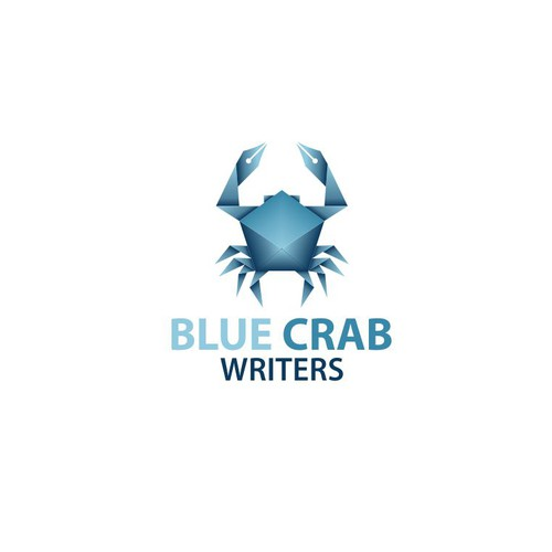 Bold logo contest for Blue Crab Writers