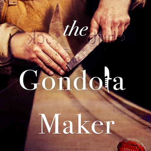 Book cover for The Gondola Maker: A novel set in 16th-century Venice