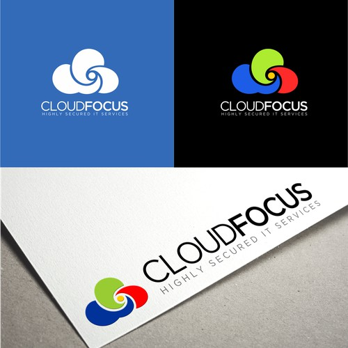 Bold logo concept for CloudFocus