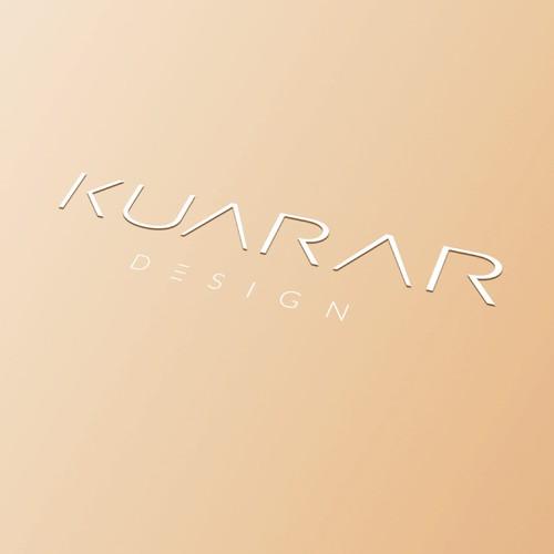 Minimalistic logo for jewelry designer