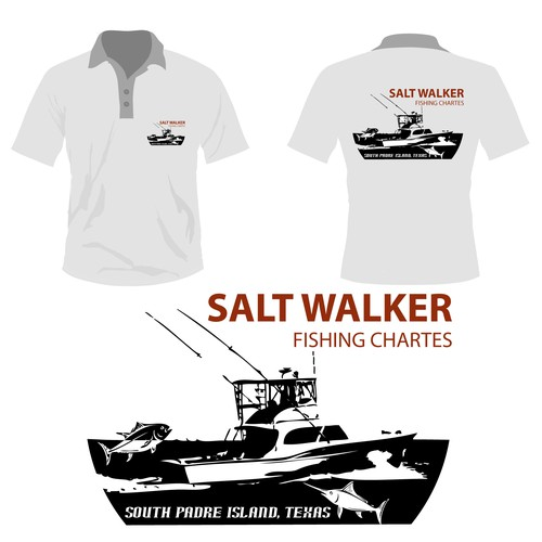 Texas fishing charter boat needs a great t-shirt design!