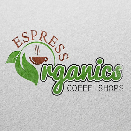 Organic Coffe Shops Siggnage