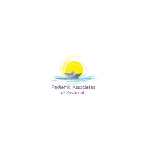 Logo concept for pediatric association