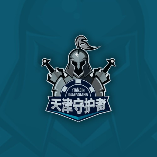 Chinese poker league logo