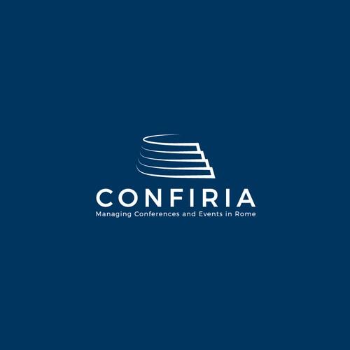 Bold logo concept for Confiria