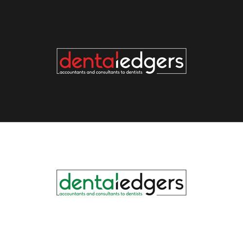 dentaledgers logo design