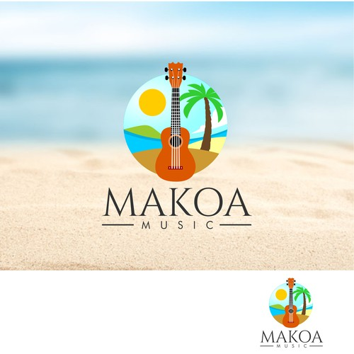 logo concept for Makoa Music