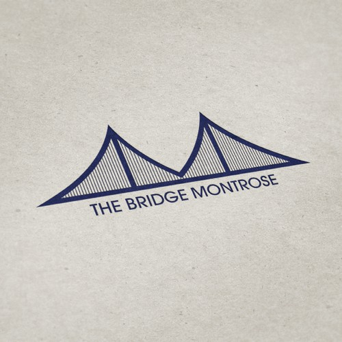Create a clean, meaningful, and attractive logo for The Bridge Montrose