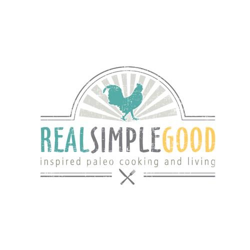 Logo for a paleo food blog