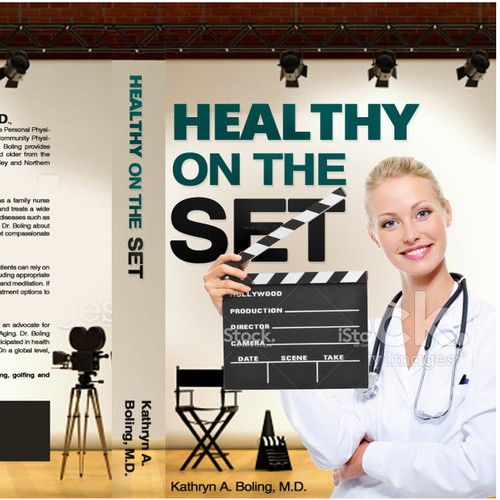 Healthy on The Set (Book Cover)