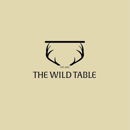 Wild Table logo, denoting literal meaning