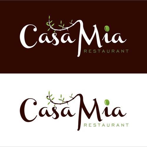 Casa Mia Restaurant needs a new logo and business card
