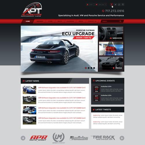 Create New Automotive Website