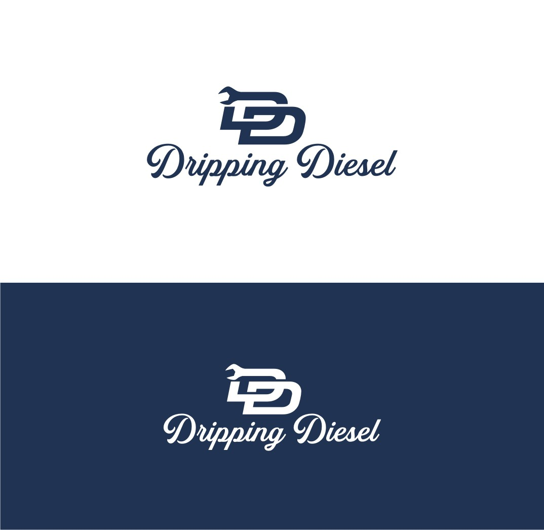 Dripping Diesel Simple Logo