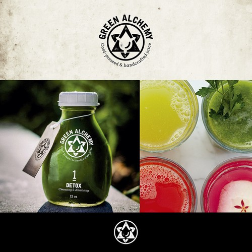 logo for Green Alchemy juice