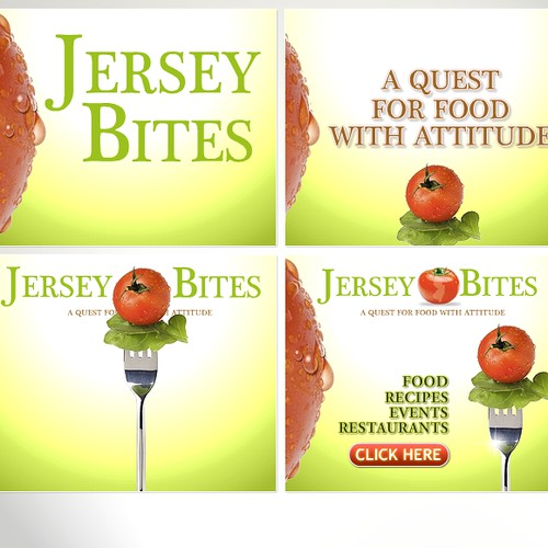 Jersey Bites animated flash banner