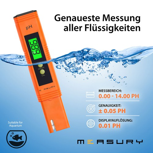 Measury PH reader