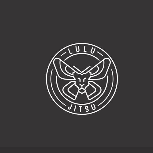 monoline logo for lulu jitsu